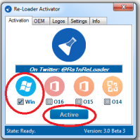 activation windows 10 . Instruction for Re-Loader activator.